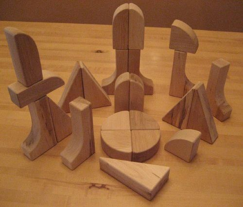 Beka Special Shapes Block Collection: 24 Pieces Set
