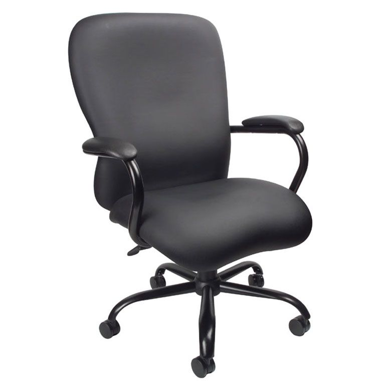 Boss Heavy Duty Caressoftplus™ Chair-400 Lbs