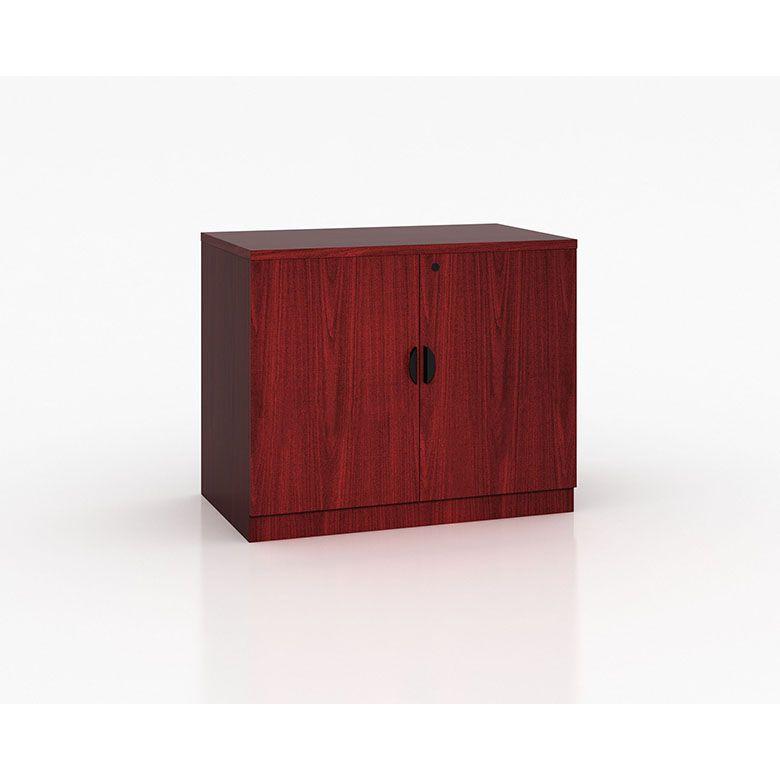 Boss Storage Cabinet-mahogany