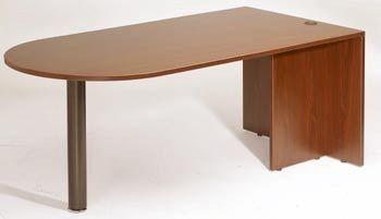 Boss Bullet Desk, Cherry 71*35