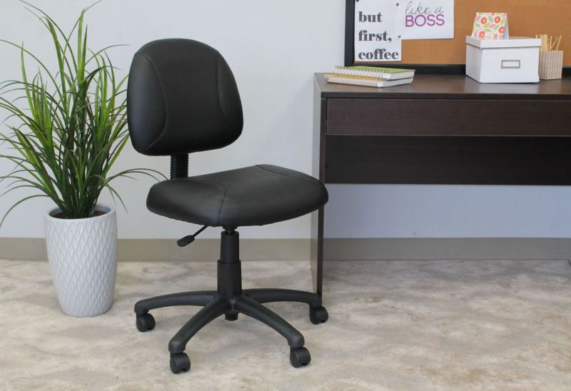 Boss Black Posture Chair
