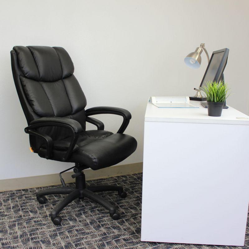 "Boss ""ntr"" Executive Top Grain Leather Chair"