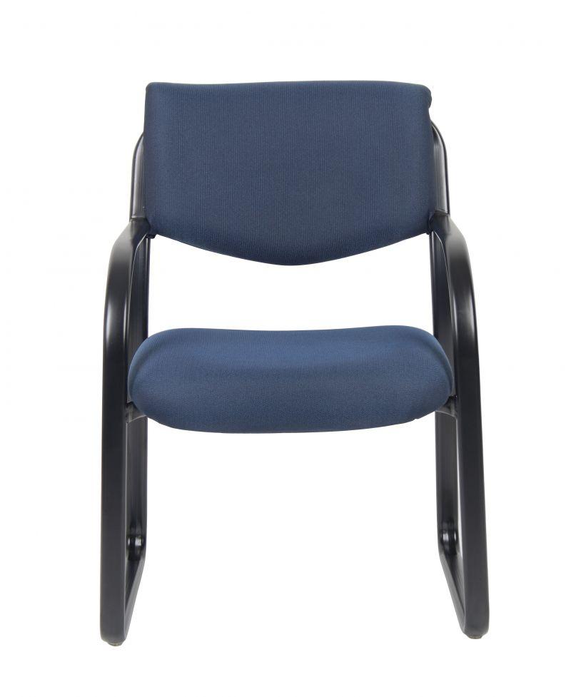 Boss Blue Fabric Guest Chair