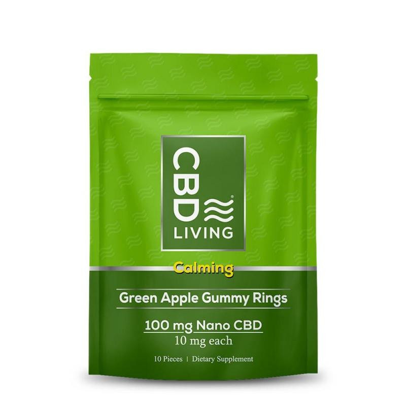 Cbd Gummy Rings - Green Apple