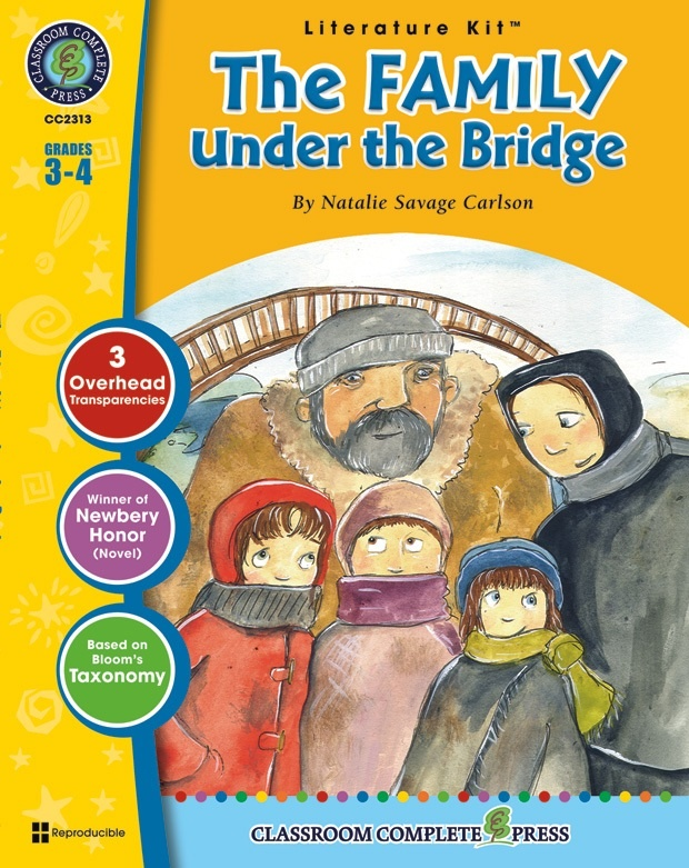 Classroom Complete Regular Education Literature Kit: The Family Under The Bridge, Grades - 3, 4