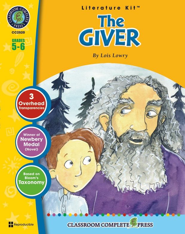 Classroom Complete Regular Education Literature Kit: the Giver, Grades - 5, 6