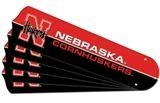 """New Ncaa Nebraska Cornhuskers 42"""" Ceiling Fan Blade Set"""