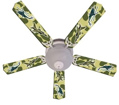 """New Freedom Camo Military Ceiling Fan 52"""""""