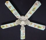 """New Curious George Monkey Ceiling Fan 52"""""""
