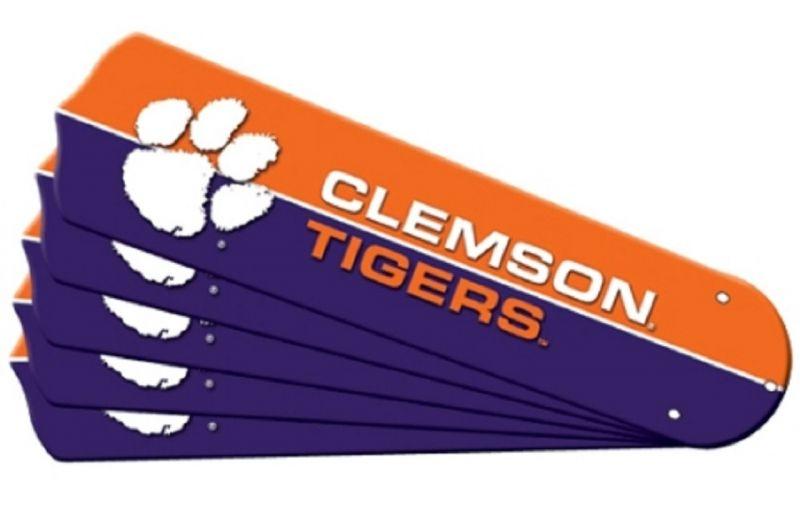 """New Ncaa Clemson Tigers 42"""" Ceiling Fan"""