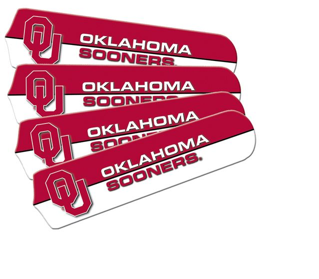 "New Ncaa Oklahoma Sooners 42"" Ceiling Fan"