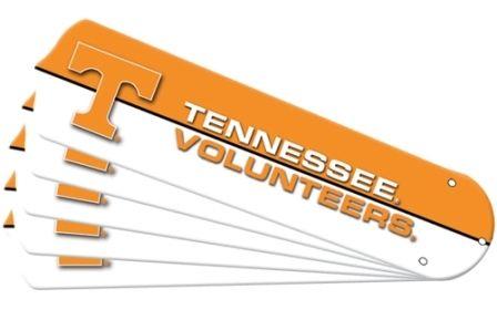 """New Ncaa Tennessee Volunteers Vols 52"""" Ceiling Fan Blade Set"""