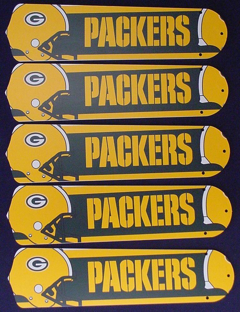 Ceiling Fan Designers NFL Green Bay Packers Fan/Blades