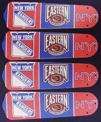 Ceiling Fan Designers NHL New York Rangers Hockey Fan/Blades