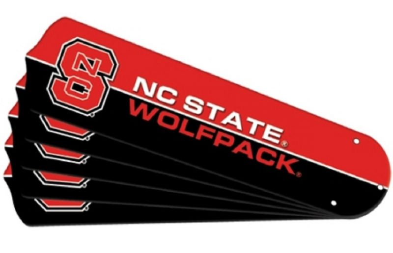 """New Ncaa Nc State Wolfpack 42"""" Ceiling Fan"""