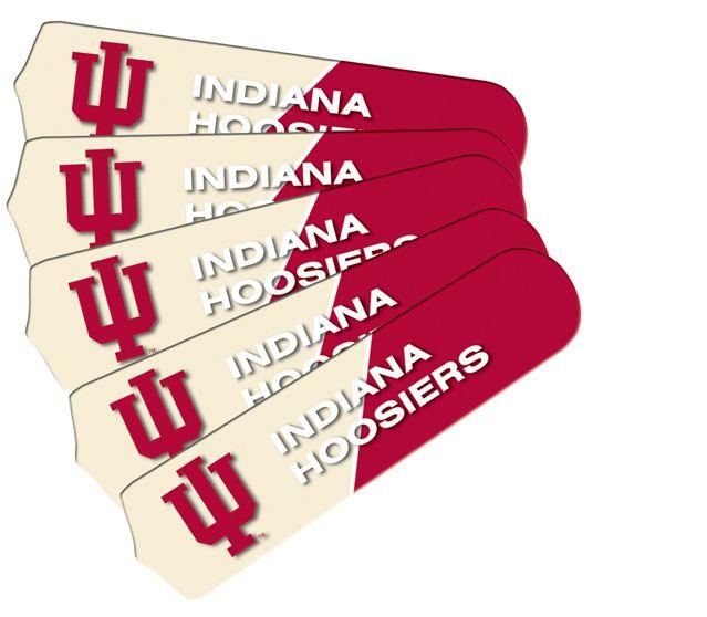 """New Ncaa Indiana Hoosiers 42"""" Ceiling Fan"""