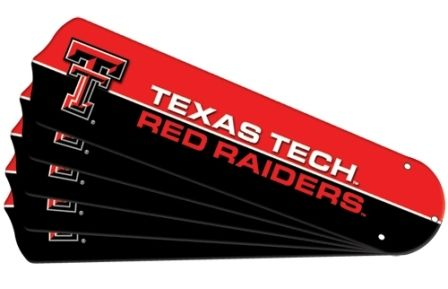 "New Ncaa Texas Tech Red Raiders 42"" Ceiling Fan"