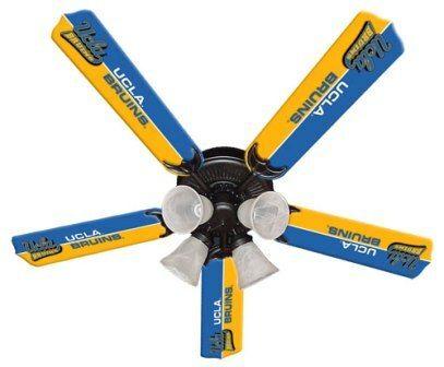 """New Ncaa Ucla Bruins 52"""" Ceiling Fan"""