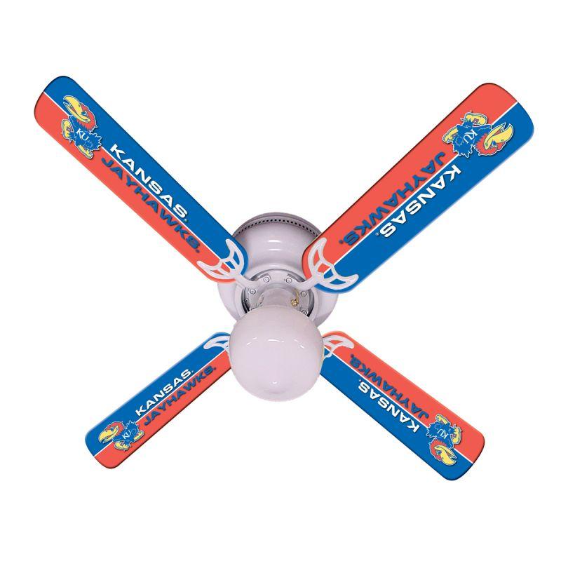 """New Ncaa Kansas Jayhawks 42"""" Ceiling Fan"""