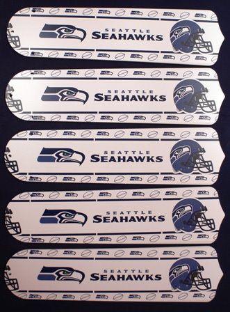 Ceiling Fan Designers NFL Seattle Seahawks Fan/Blades