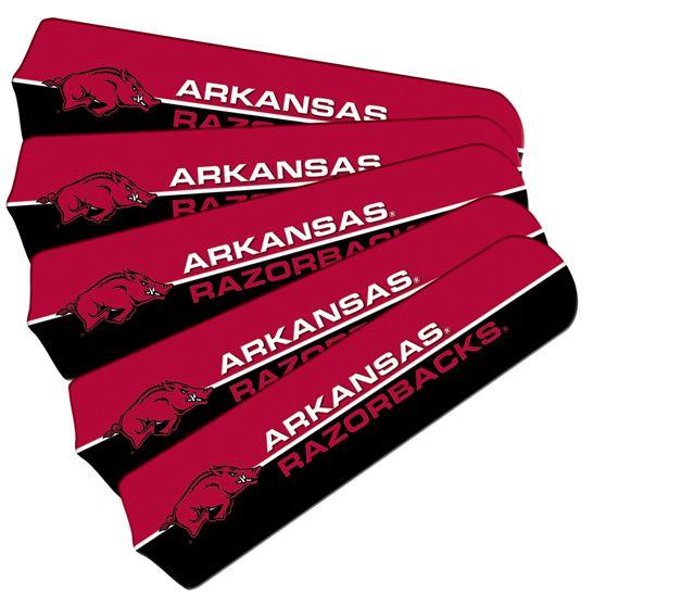 """New Ncaa Arkansas Razorbacks 42"""" Ceiling Fan"""