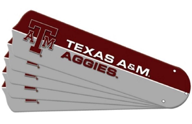 """New Ncaa Texas A&m Aggies 42"""" Ceiling Fan"""