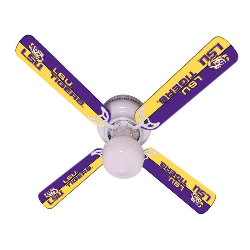 """New Ncaa Lsu Tigers 42"""" Ceiling Fan"""