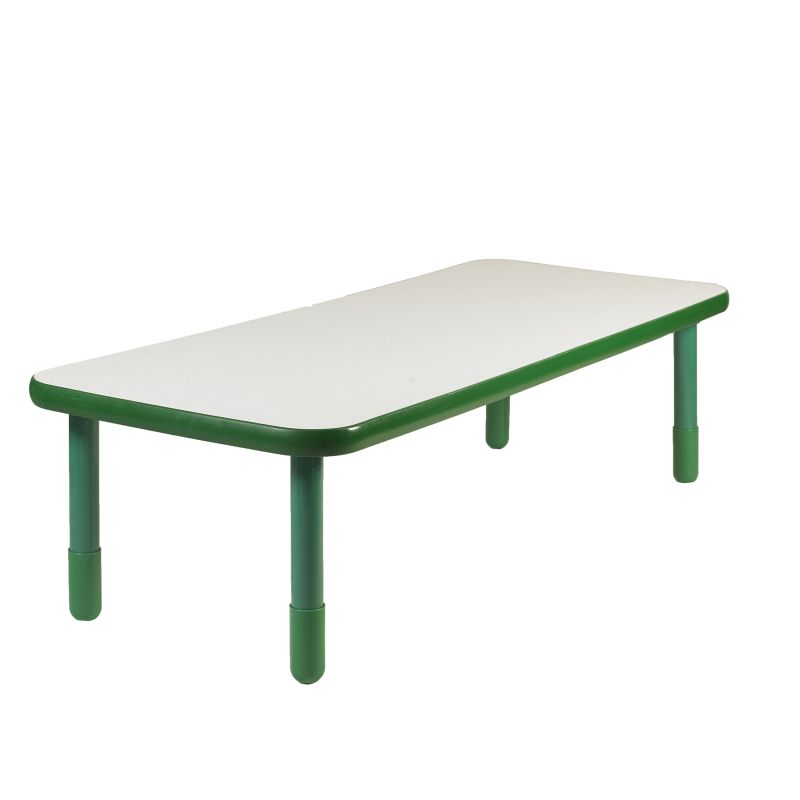 Baseline® 72″ X 30″ Rectangular Table – Shamrock Green With 20″ Legs