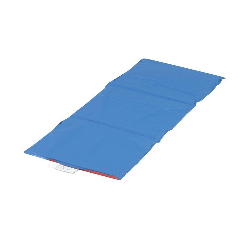 Economy Angels Rest™ Nap Mat – Red/Blue 3-Section Folding Mat