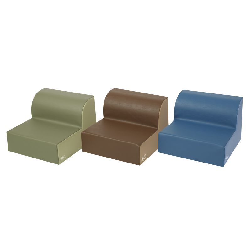 Woodland Library Trio Chairs – Set Of 3