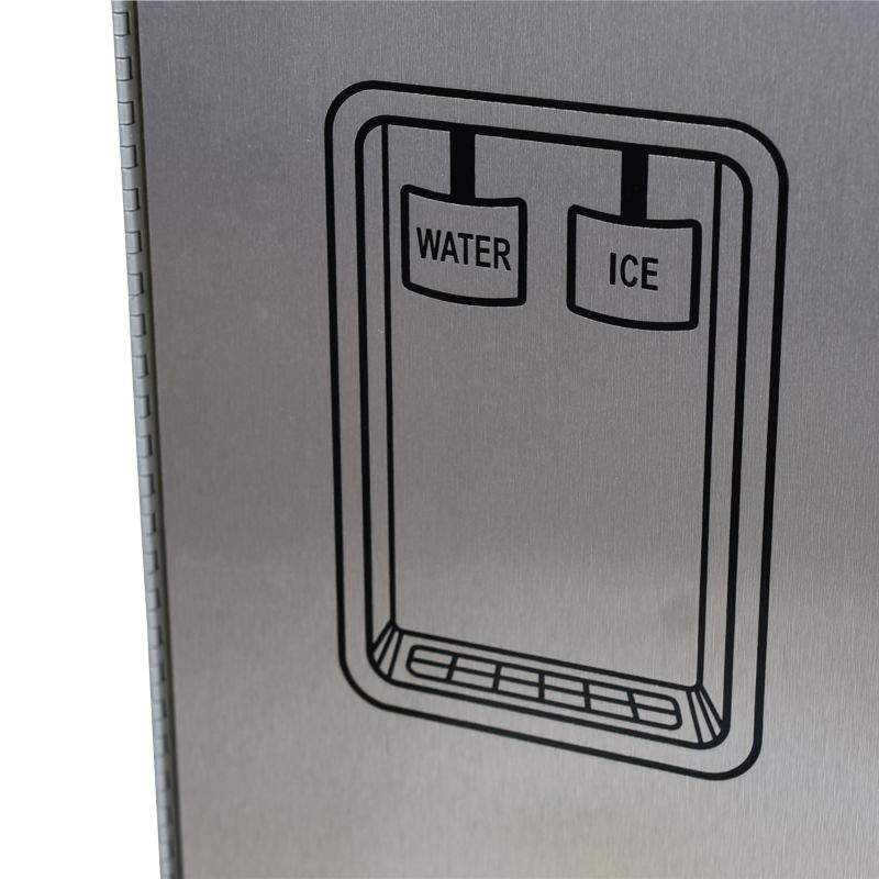 Contemporary Side-By-Side Refrigerator