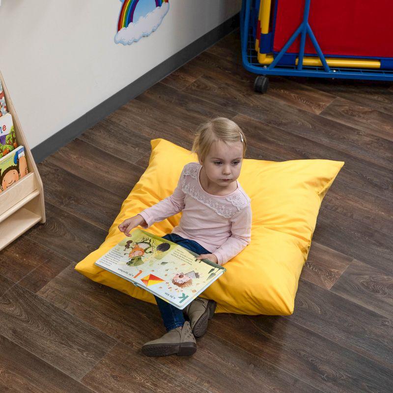 Cuddle-ups® 27″ Cozy Floor Pillow – Yellow