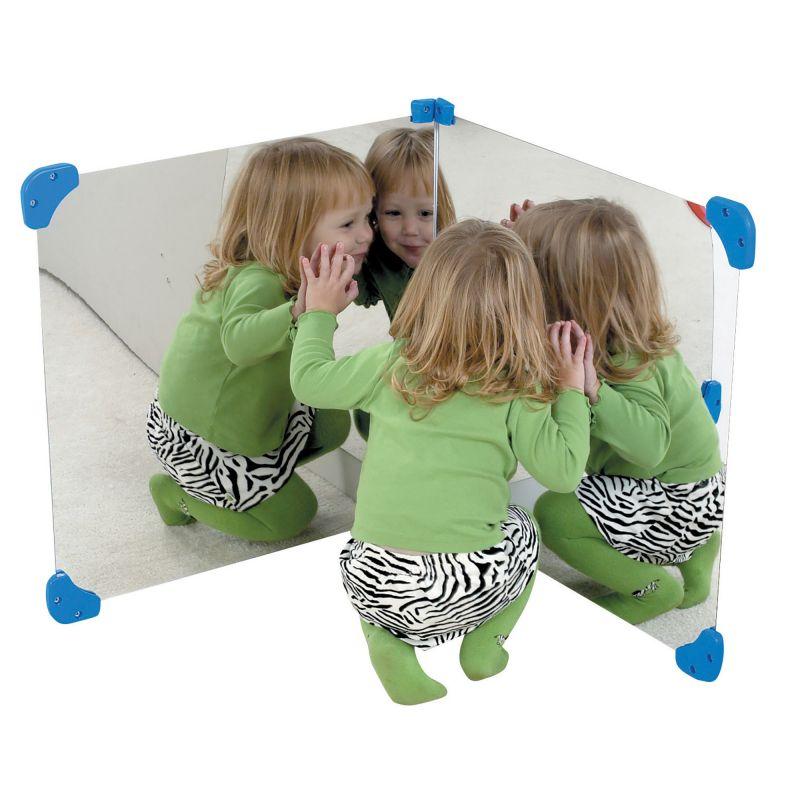 24″ Corner Mirror Pair
