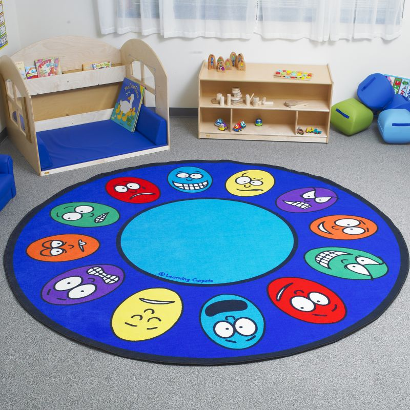 Expressions Educational Rug – Large Round