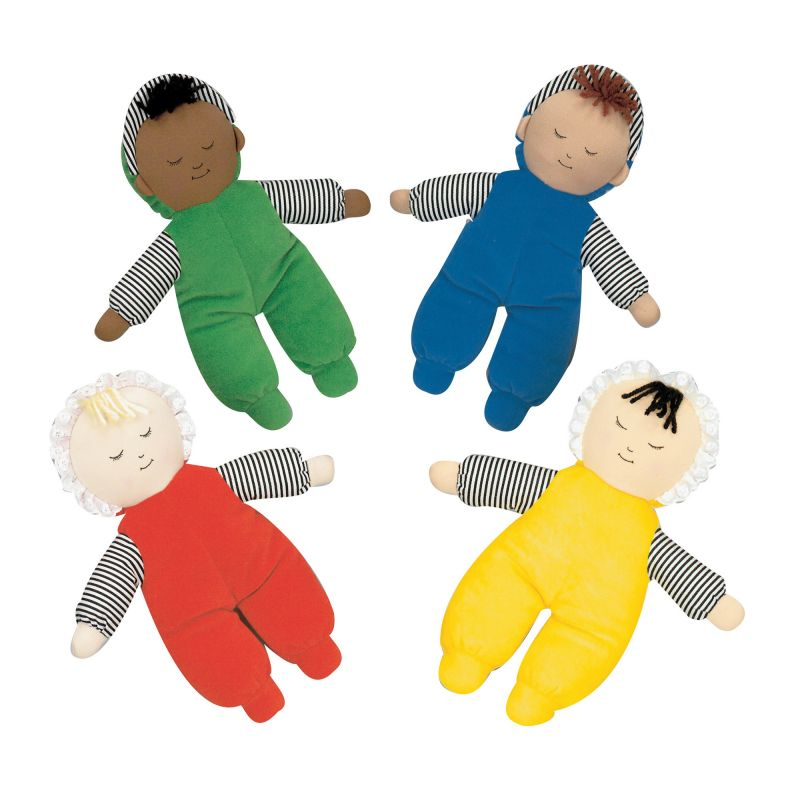 Baby's First Doll – Set Of 4 Multi-ethnic