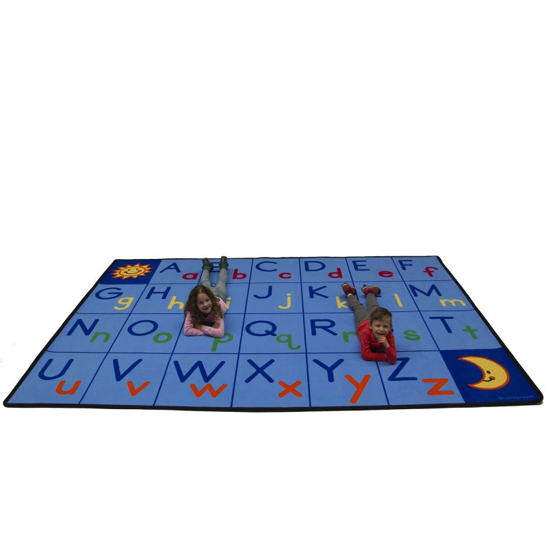 Upper & Lower Abc'S Educational Rug – Rectangle Large