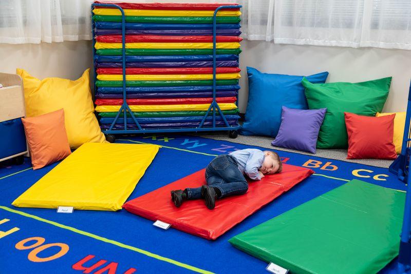 Cuddle-ups® 27″ Cozy Floor Pillows – Primary Set Of 4
