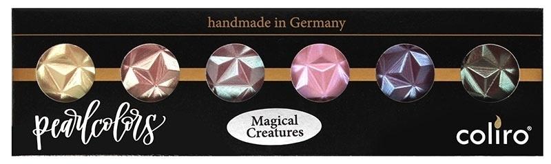"""Finetec Gmbh Color Set """"magical Creatures"""""""