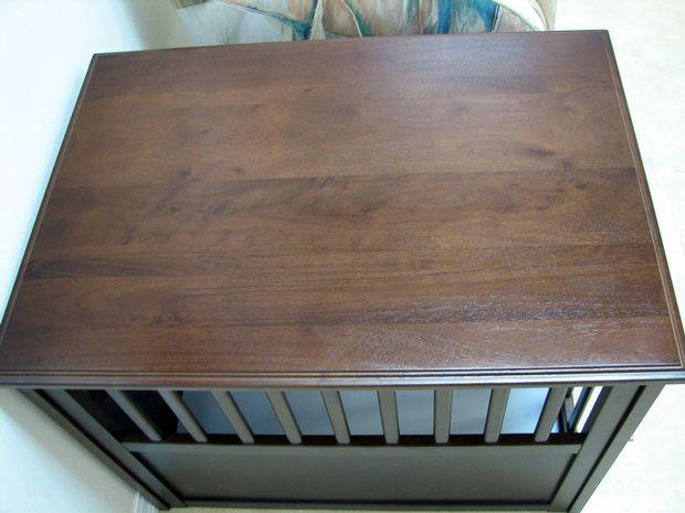 Crown Pet™ Pet Crate: Espresso Large