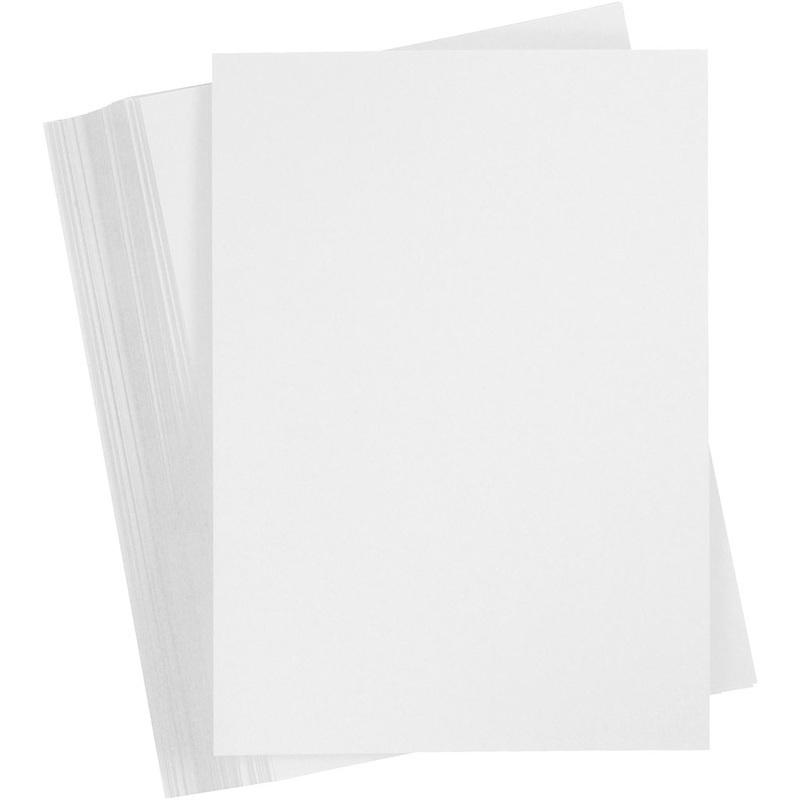 Creativ Company Card, Snow White, A5, 148x210 Mm, 180 G, 200 Sheet