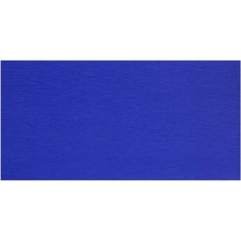 Creativ Company Crepe Paper, Blue, 50x250 Cm, 10 Pleats