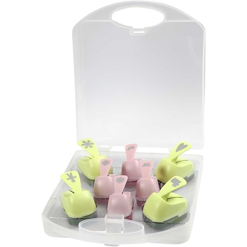Creativ Company Paper Punches, All Year, 15+23 Mm, 4 Pc, 2