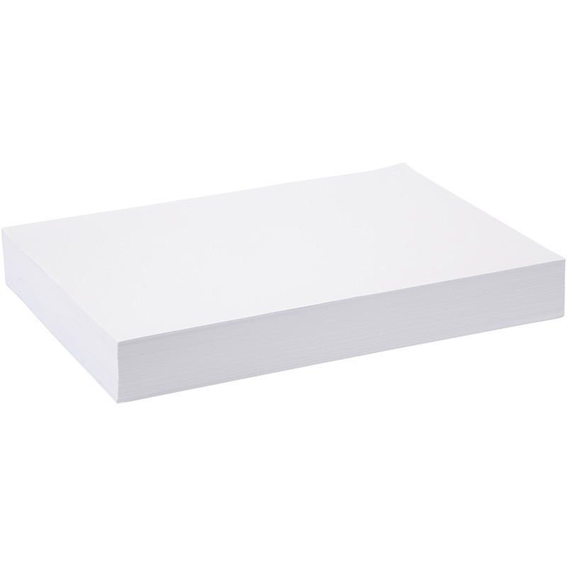 Creativ Company Drawing Paper, White, A3, 297x420 Mm, 80 G, 500 Sheet, 1 Pack