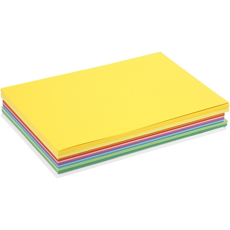 Colortime Happy Card, Assorted Colours, A4, 210x297 Mm, 180 G, 30 Ass Sheets