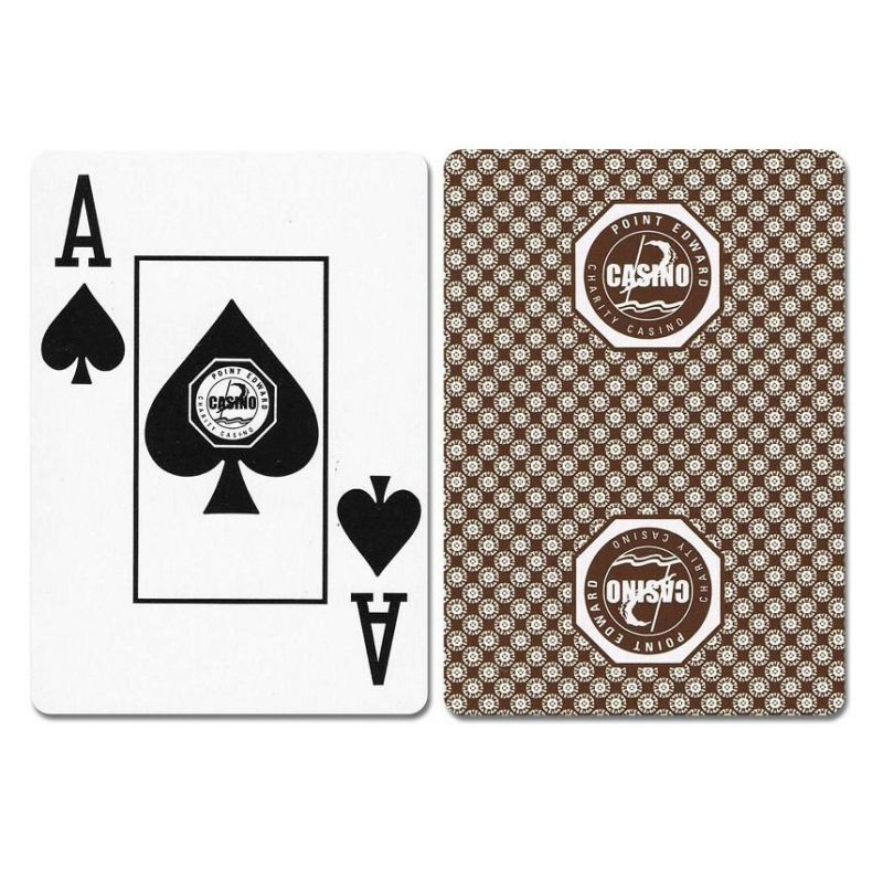 Point Edward New Uncancelled Casino Playing Cards
