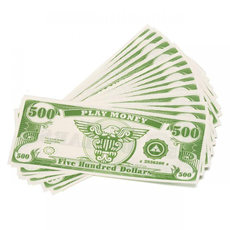 Paper Play Money Bulk (1000/pkg) Click For Denominations