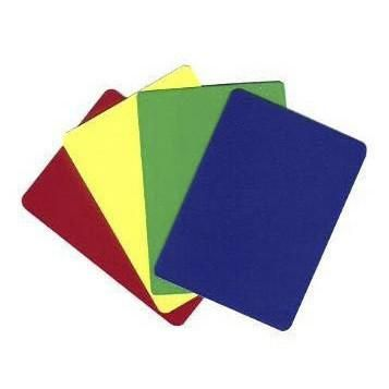 Plastic Flexible Cut Cards (pack Of 10)