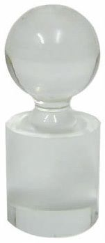 Roulette Marker - Clear Cylinder W/ Ball On Top