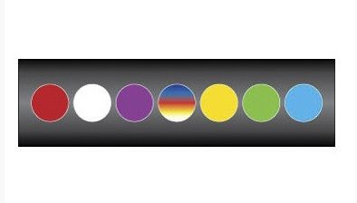 Prize Wheel Layout - Color Wheel - 15 Inch X 48 Inch