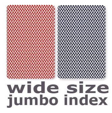Copag Export Red & Blue Wide - Jumbo Index Playing Cards